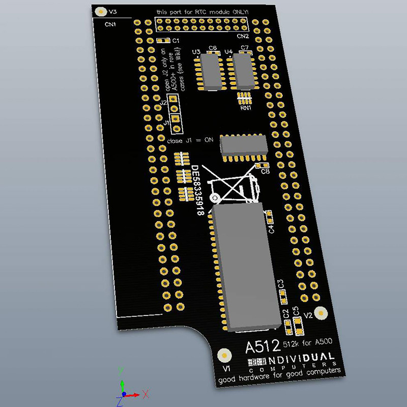 A512 Amiga 500
