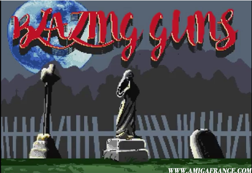 Blazing Guns Amiga