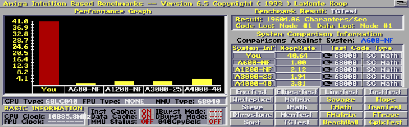 Apollo AGA Amiga