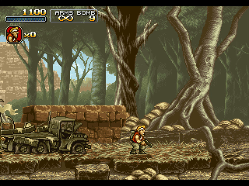 Mini Metal Slug Amiga