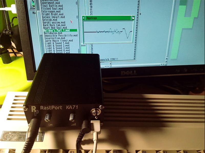 Amiga Rastport KA71