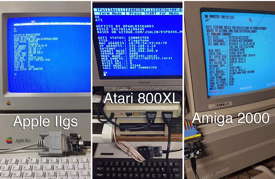 WiFi232 Amiga