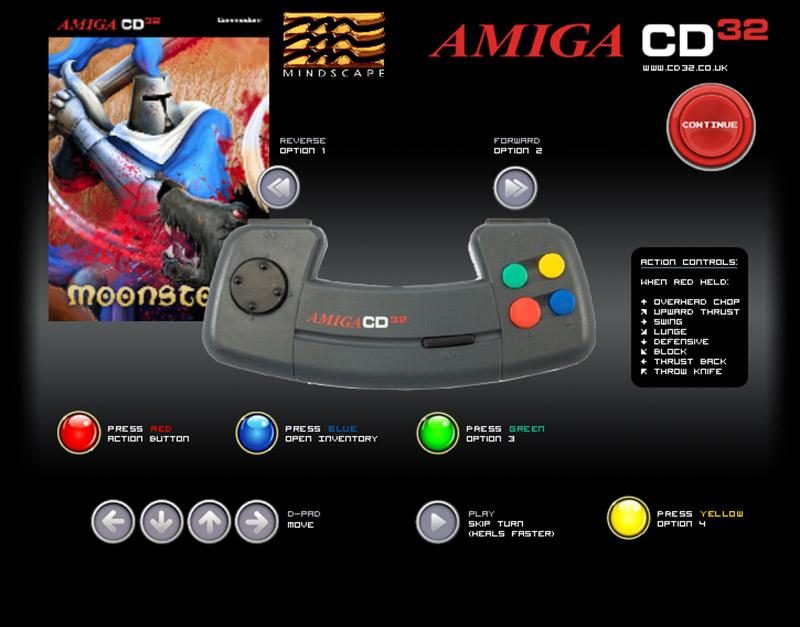 Moonstone Amiga CD32 amiga