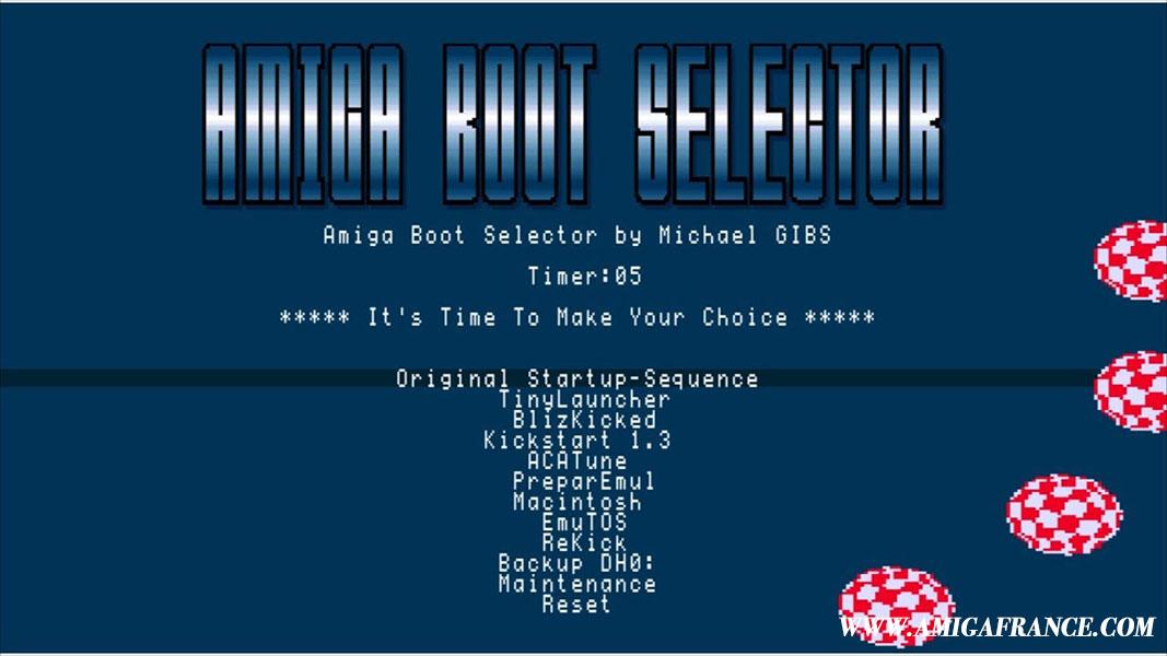 Amiga Boot Selector 2 Michael Gibs