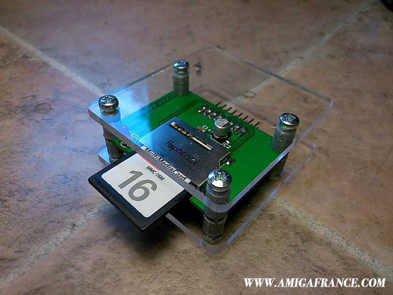 SD Card Drive Zorro II Amiga