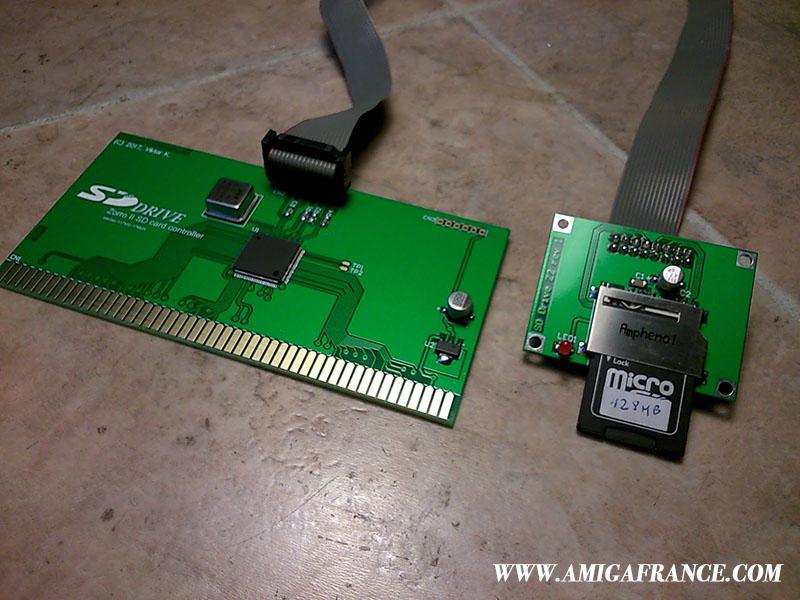 SDDrive Zorro 2 Amiga