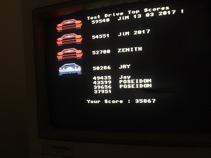 test drive score 35867