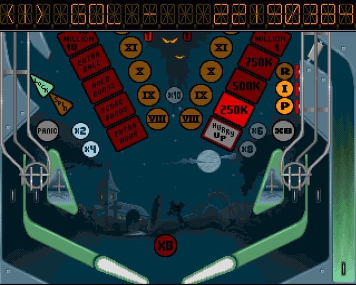 pinball dreams - nightmare - golde score