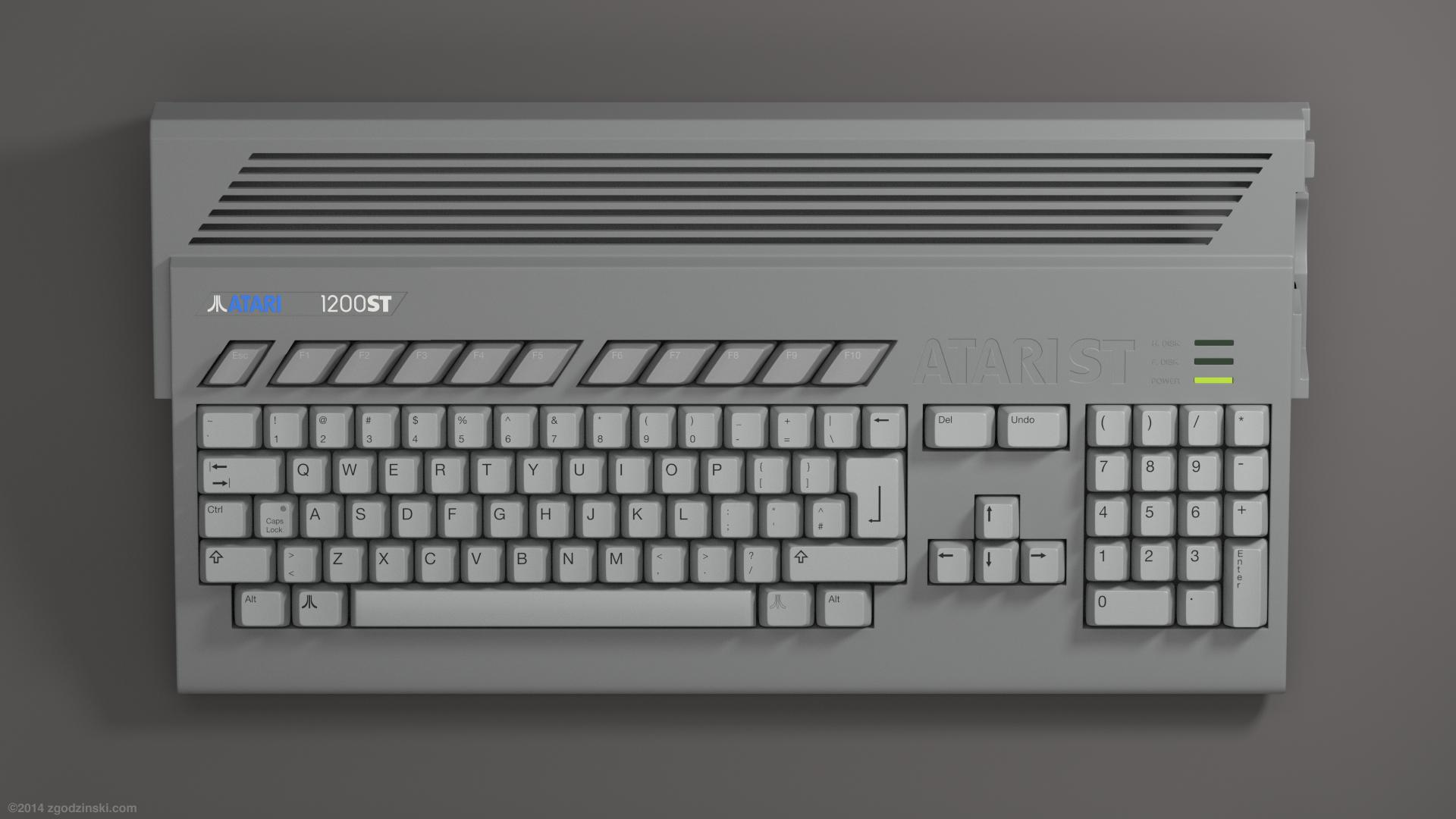 Amiga 1200 vs Atari Falcon
