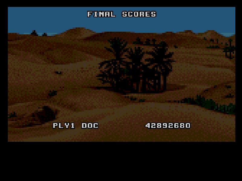 Score Doc Desert Course