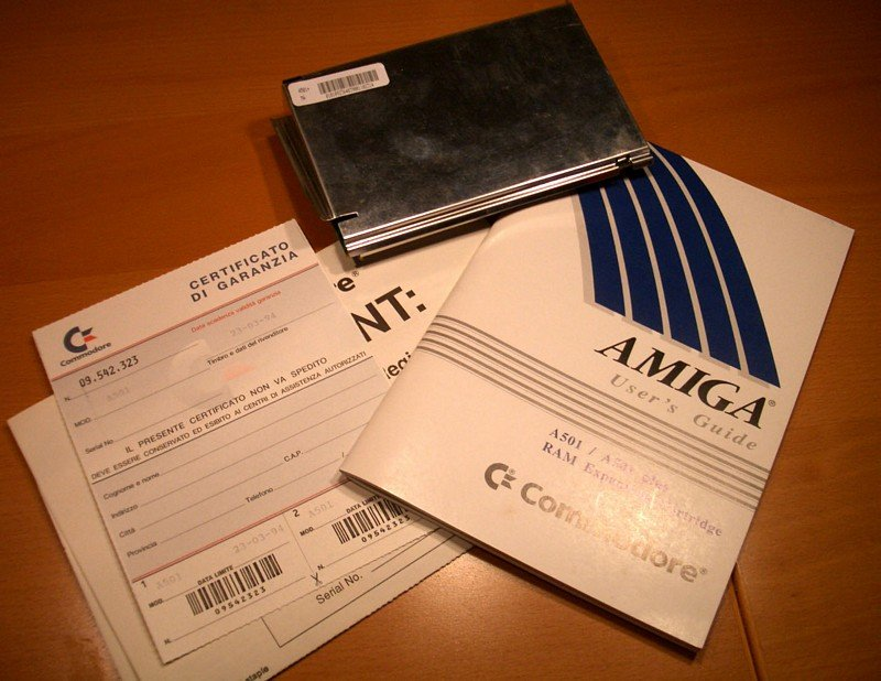A501+ Amiga 500+