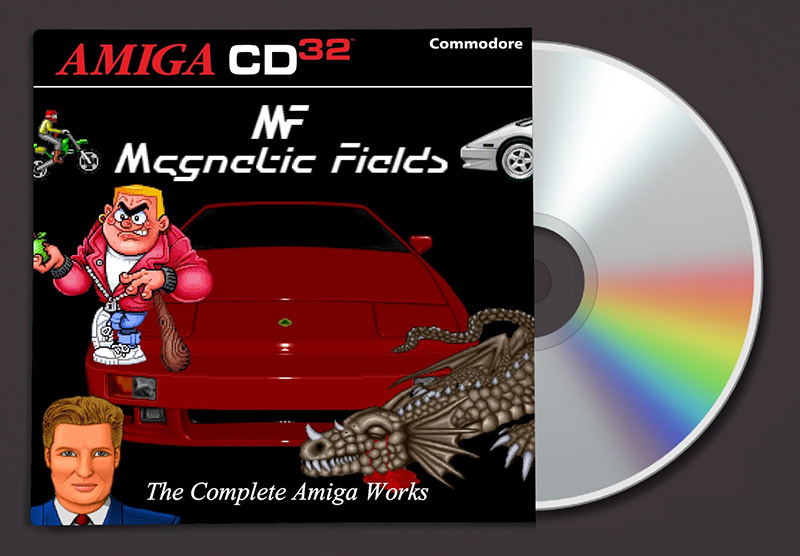 Amiga CD32 – Nouvelle compilation Magnetic Fields