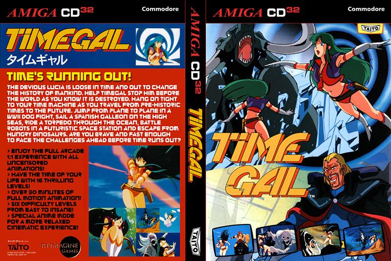Time Gal – Un nouveau jeu pour CD32 et Amiga