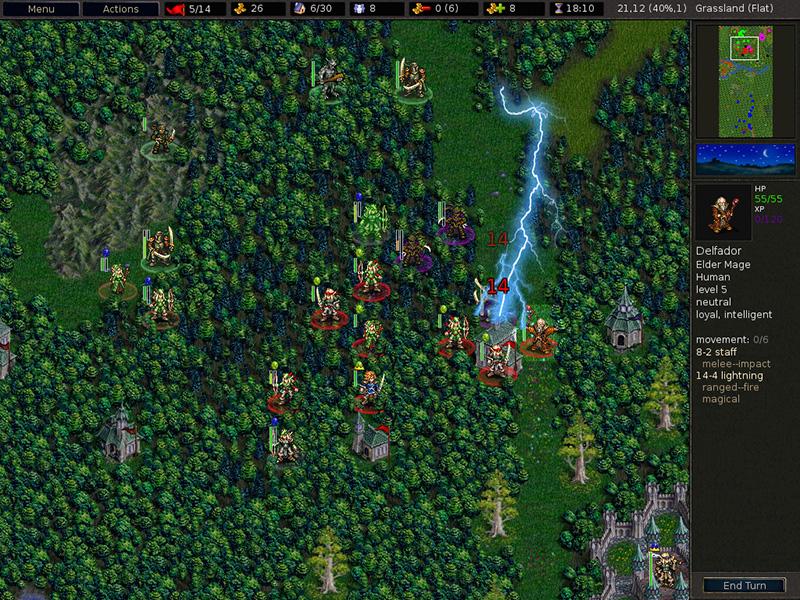 Battle of Wesnoth - Nouveau jeu de stratégie médiévale