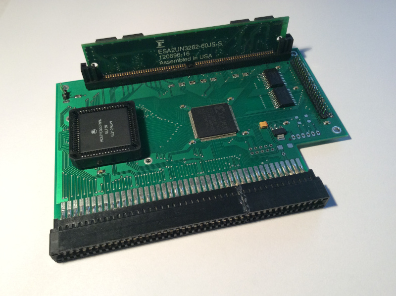 Wicher 500i – Carte accélératrice pour Amiga 500 et 500+