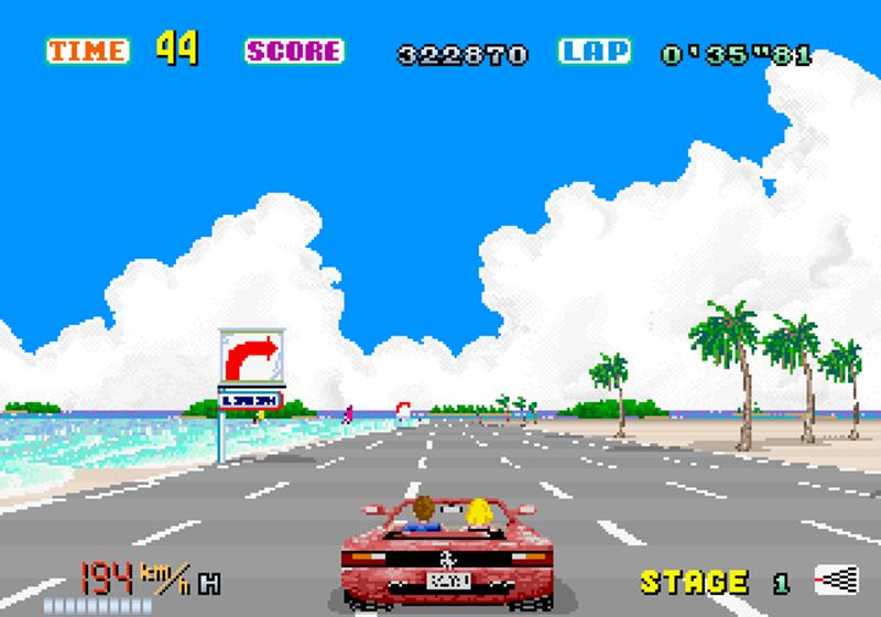 Amiga - Cannon Ball alias Outrun version Arcade