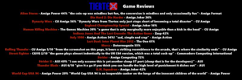 Compilation Tiertex