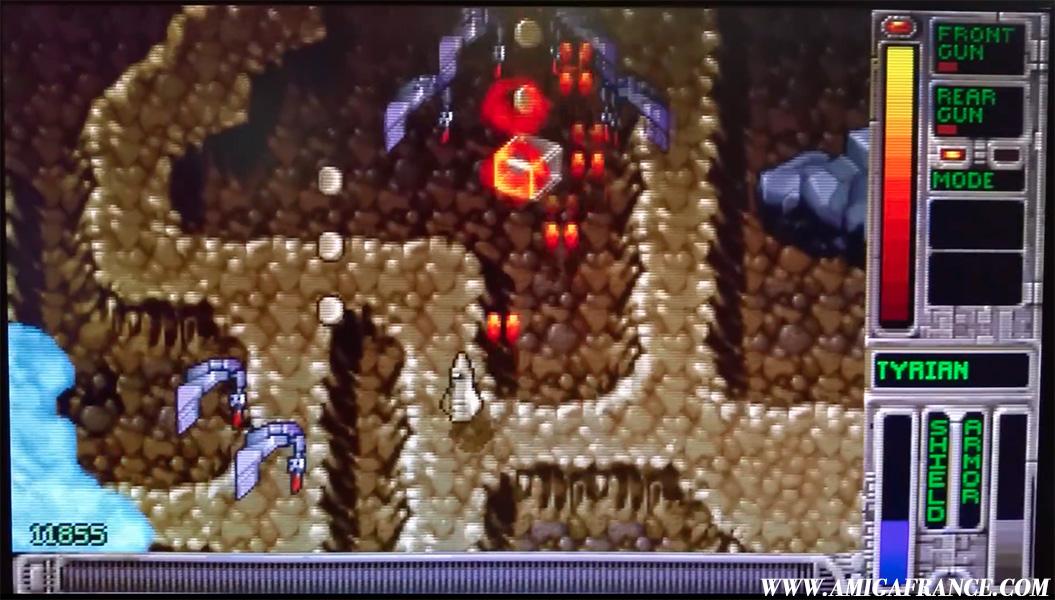 Amiga – OpenTyrian, un Shoot'em Up qui envoie du lourd
