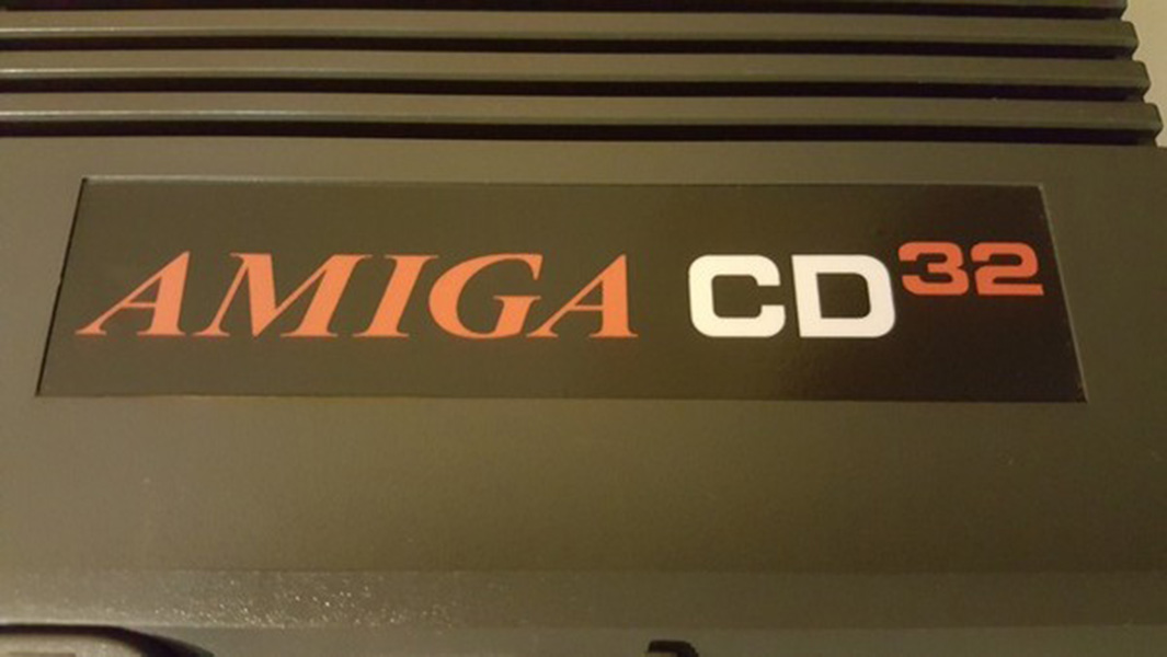 Amiga CD32 autocollant