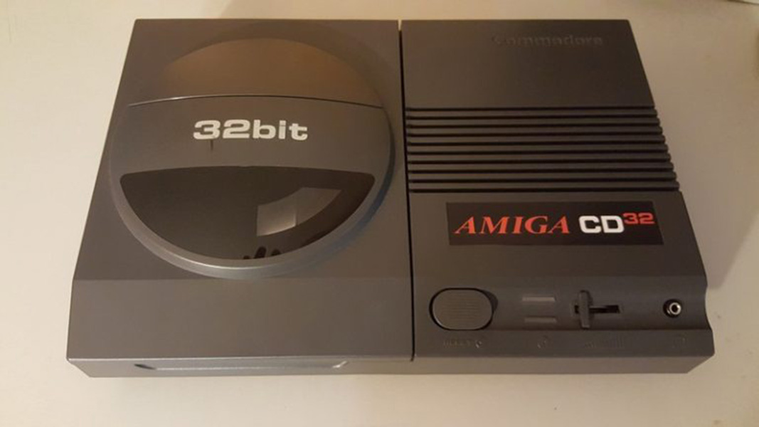 Amiga CD32 sticker