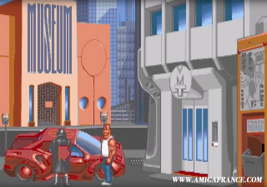 AMIGA - Le jeu d'aventure Nippon Safes Inc. en VF