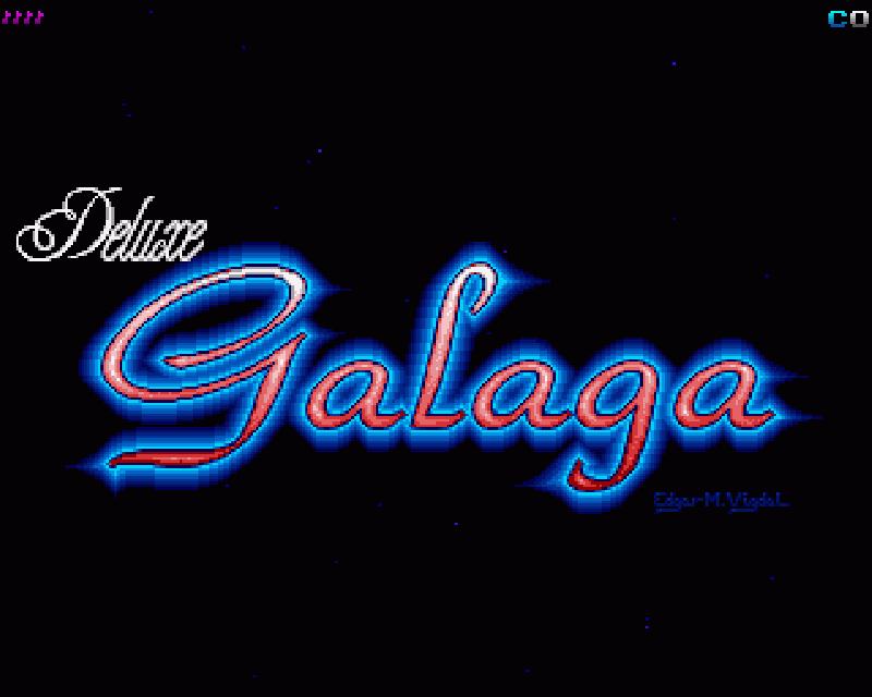 Concours du mois – Deluxe Galaga – Edgar M. Vigdal