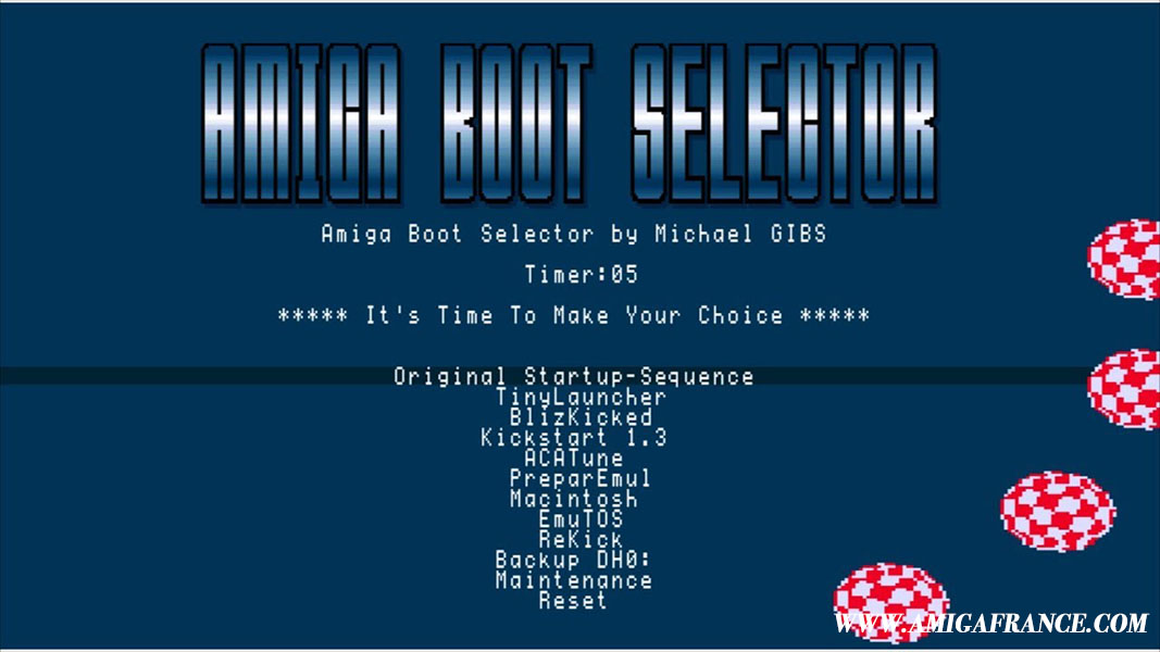 Tutoriel - Installer & configurer Amiga Boot Selector 2