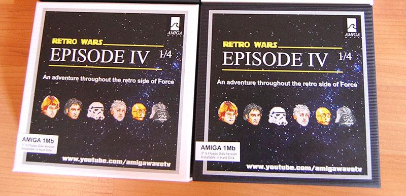 Retrowars Amiga Starwars