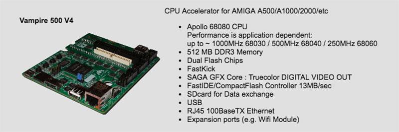 Amiga Vampire 500 V4
