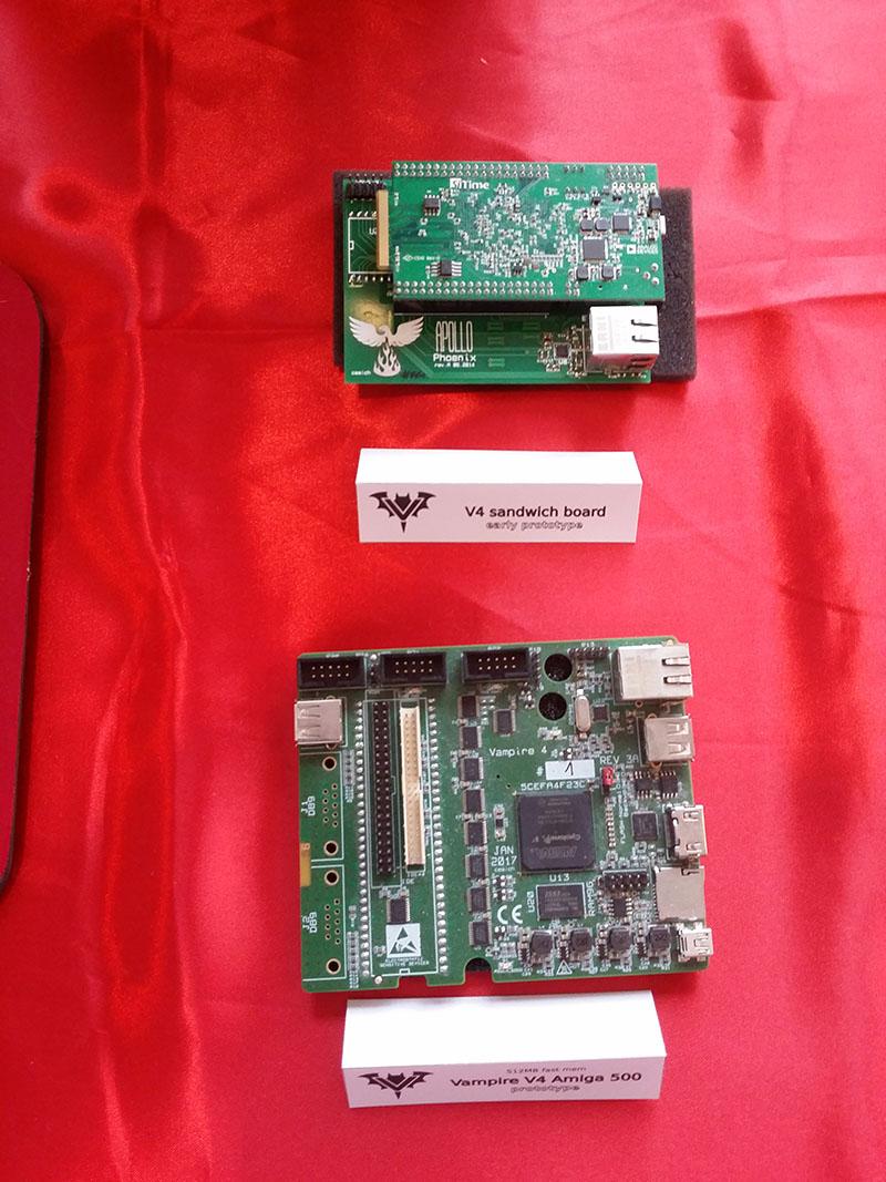 Amiga32 Vampire V4 500