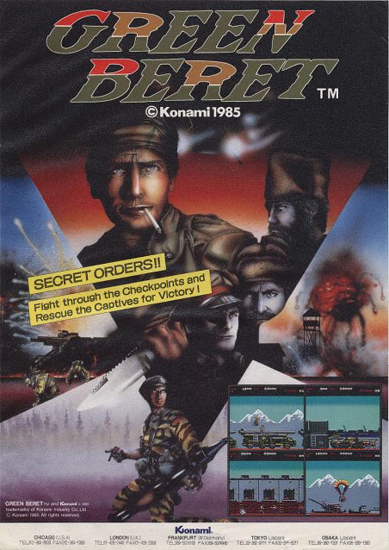 Amiga Green Beret