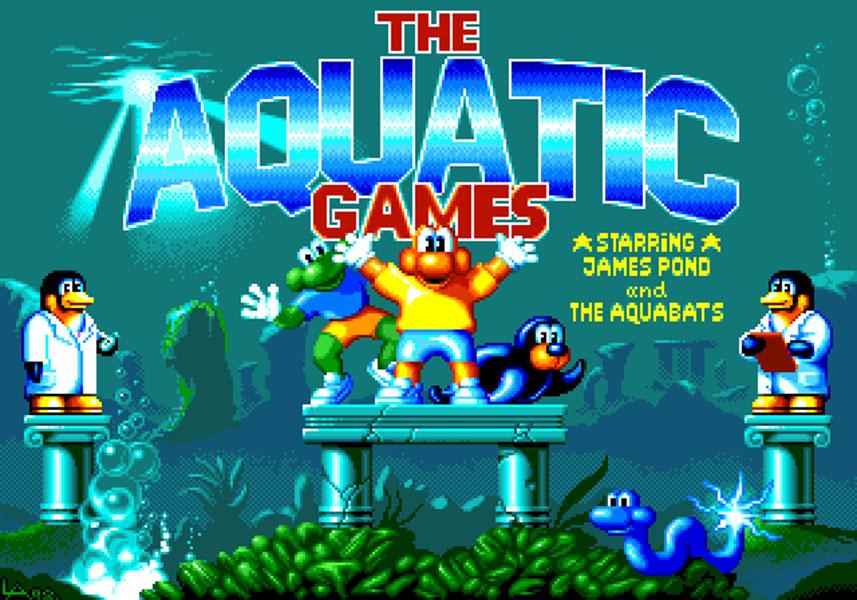 Concours du mois - The Aquatic Games - Millennium/EA