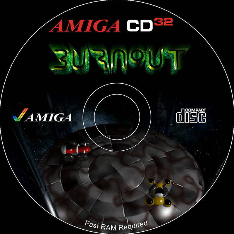 Amiga CD32 burnout ultimate