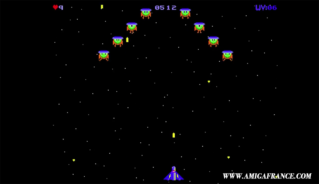 Space Hippies amiga unreleased game