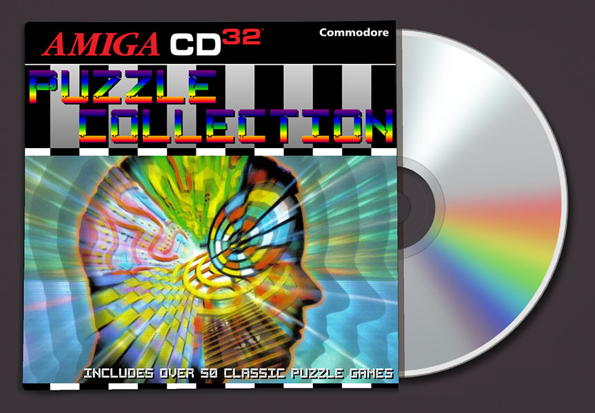 Puzzle collection compilation amiga cd32