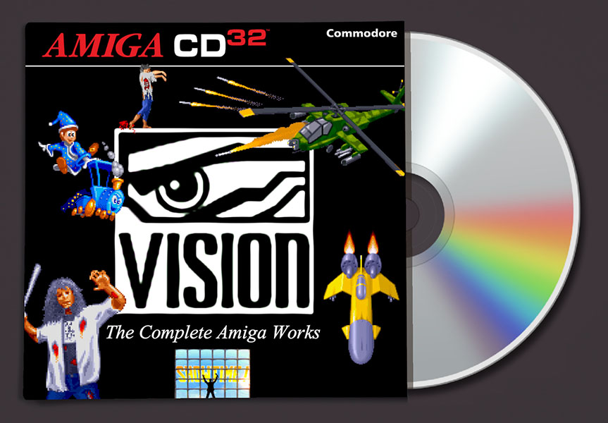 Vision Software compilation amiga cd32