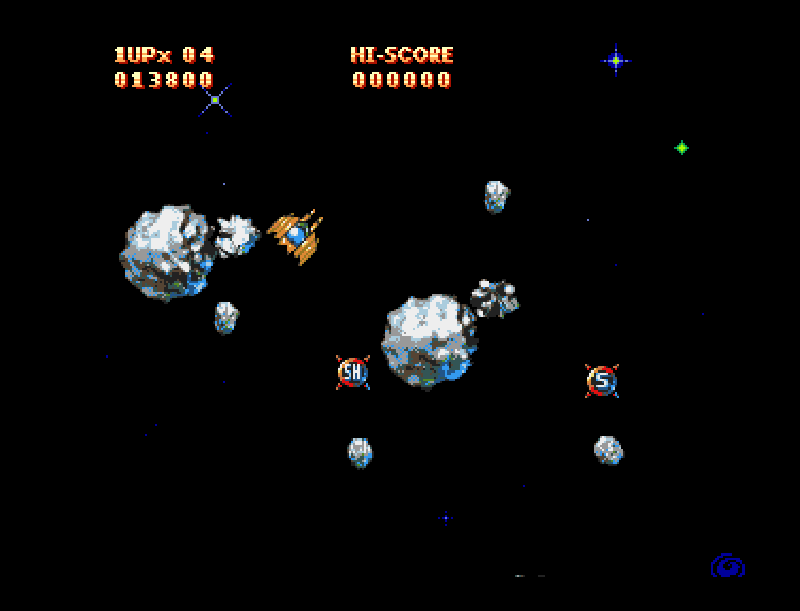 Golden Wing shootemup amiga