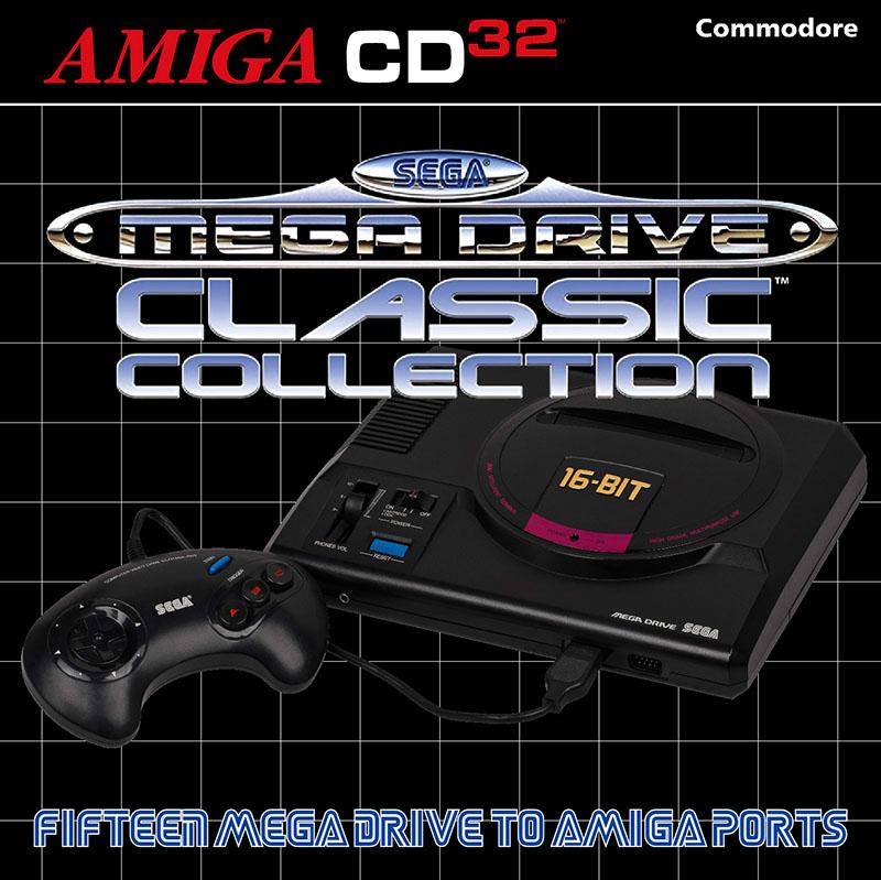 Amiga CD32 – Sega Megadrive Classic Collection