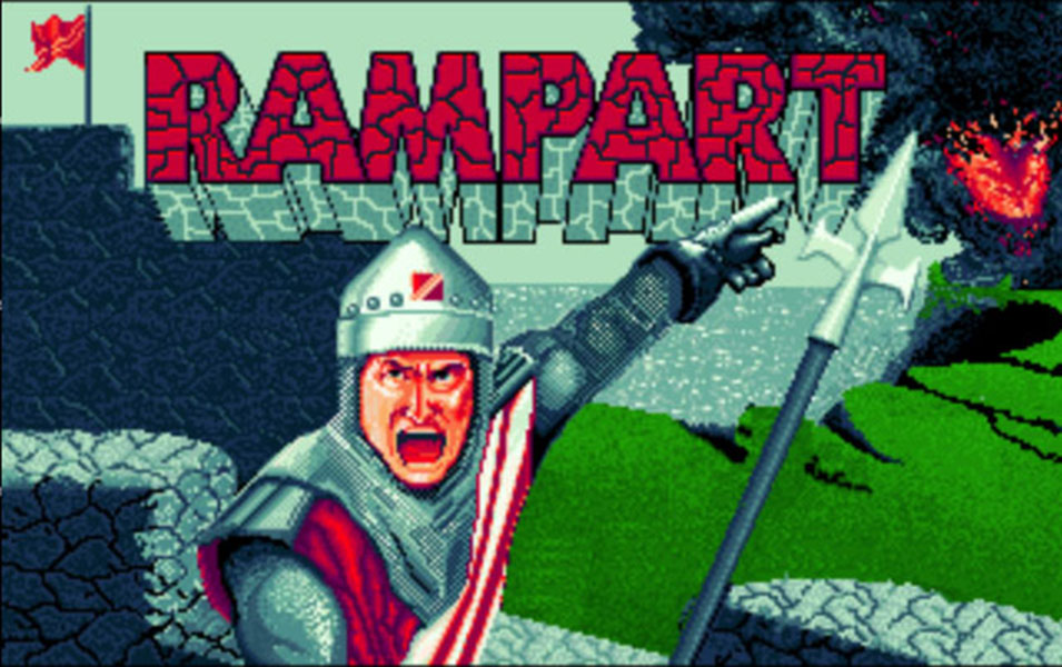 Concours du mois – Rampart – Atari Games