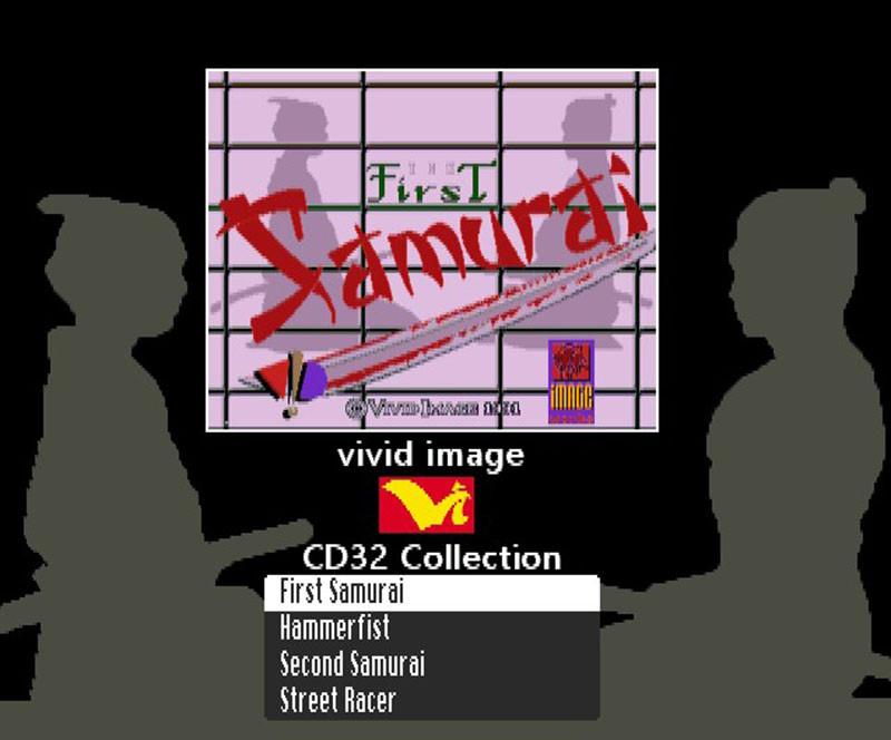 Vivid Image CD32 menu