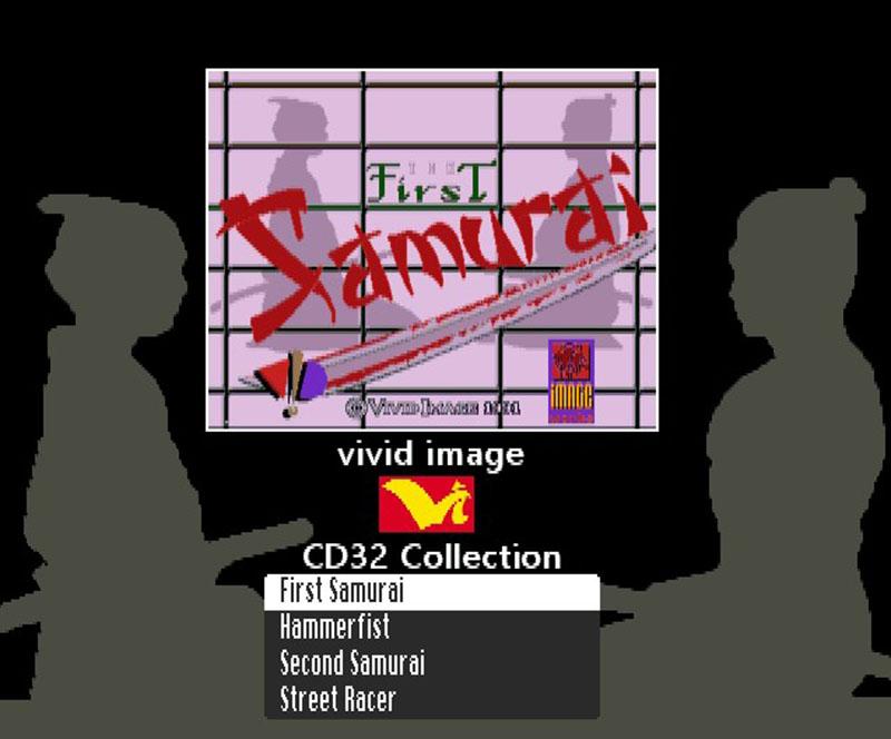 Vivid Image CD32 menu