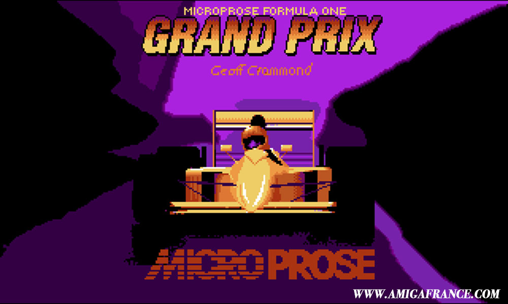 Microprose Formula One Grand Prix Amiga
