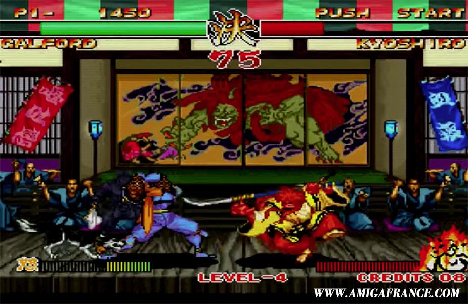 Samourai Shodown II Neo Geo Amiga