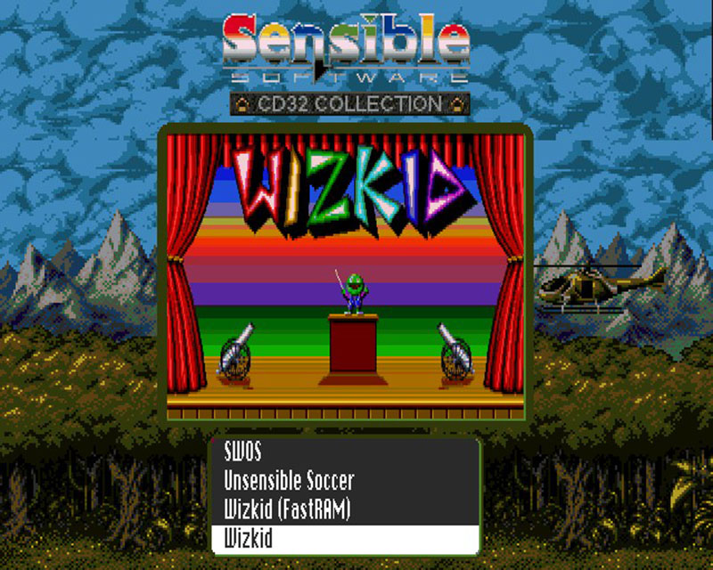 Sensible Software CD32 compilation