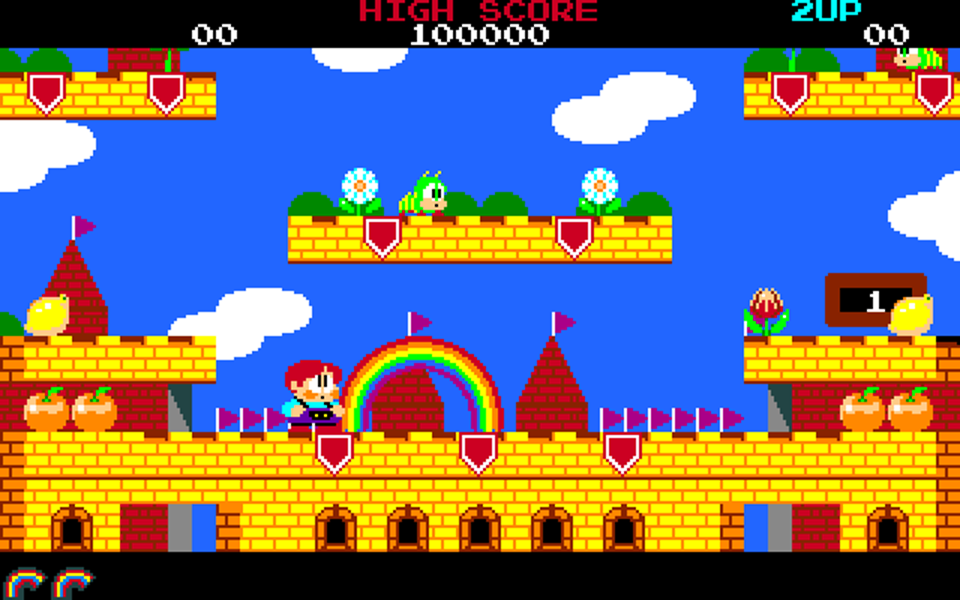 Rainbow Islands Taito Amiga