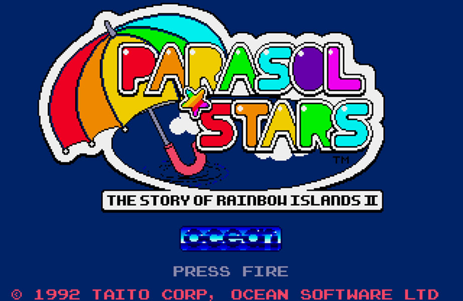 Parasol Stars Title