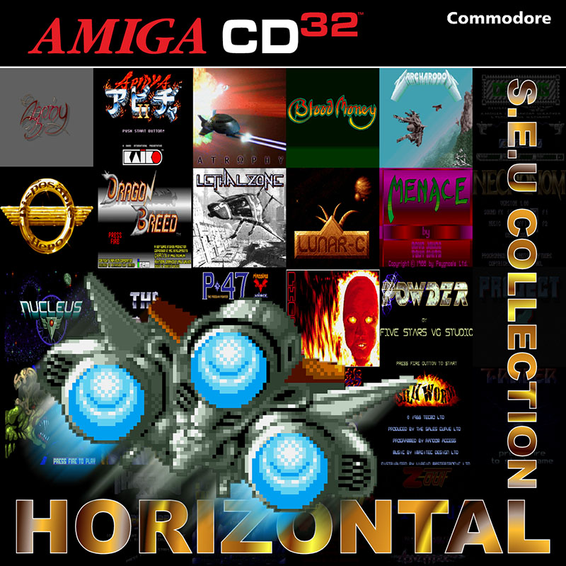 Horizontal Shoot Em Up compilation amiga cd32