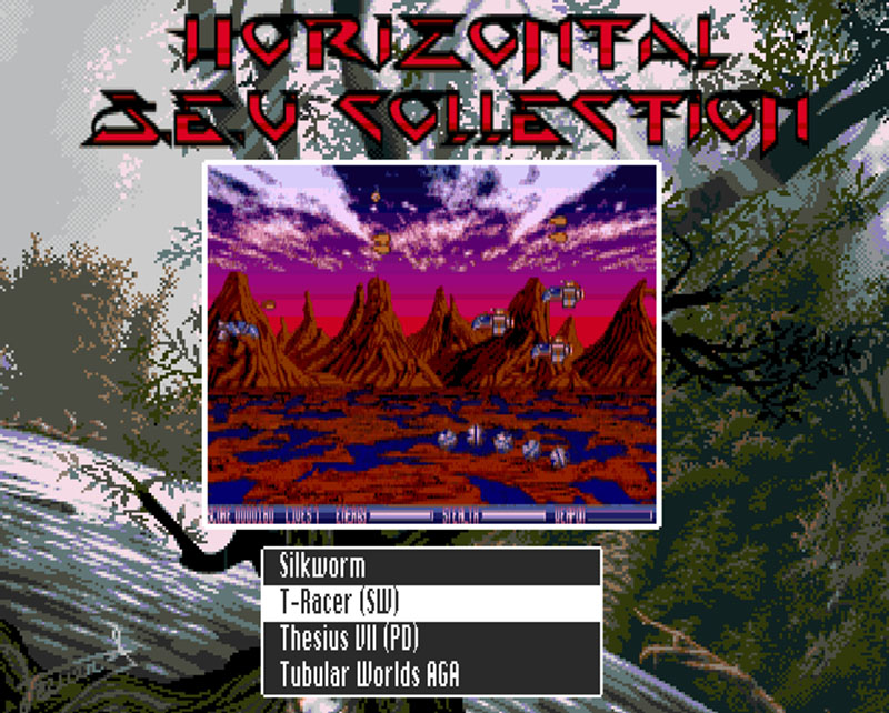 Horizontal Shoot Em UP CD32 compilation
