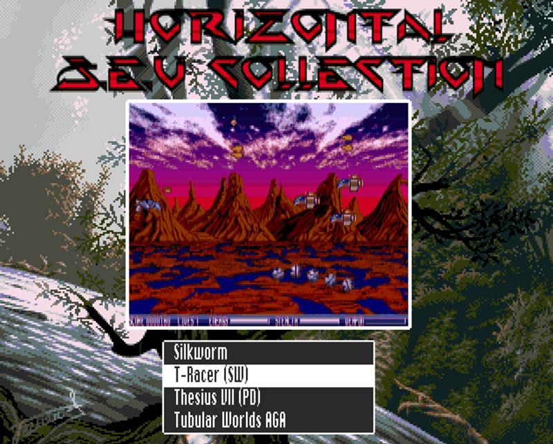 Horizontal Shoot Em UP CD32 compilation