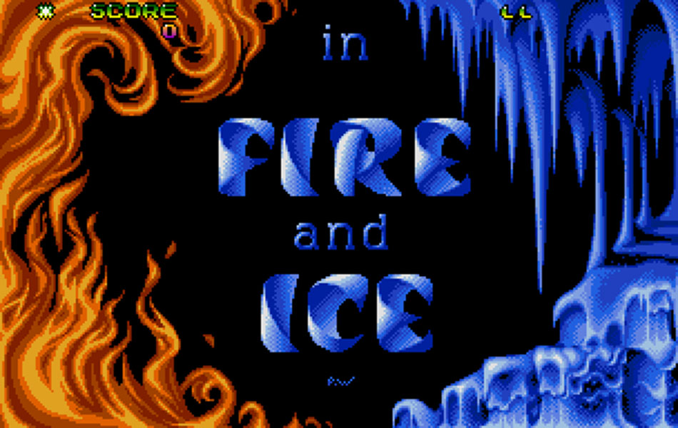 Fire and Ice Title
